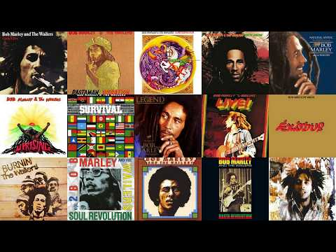 Bob Marley and The Wailers Natural Mystic The Legend Lives On Full Album 2017